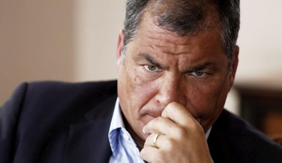 rafael correa worried